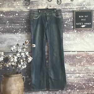 Cello Rhinestone Studded Jeans